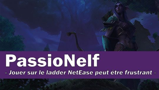 Interview du joueur PassioNelf