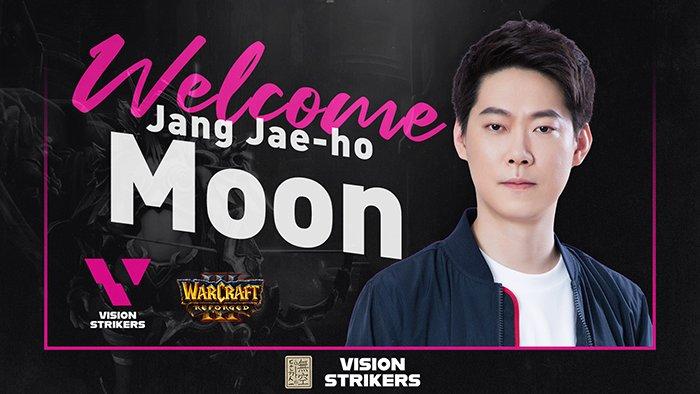 Moon rejoint Vision Strikers