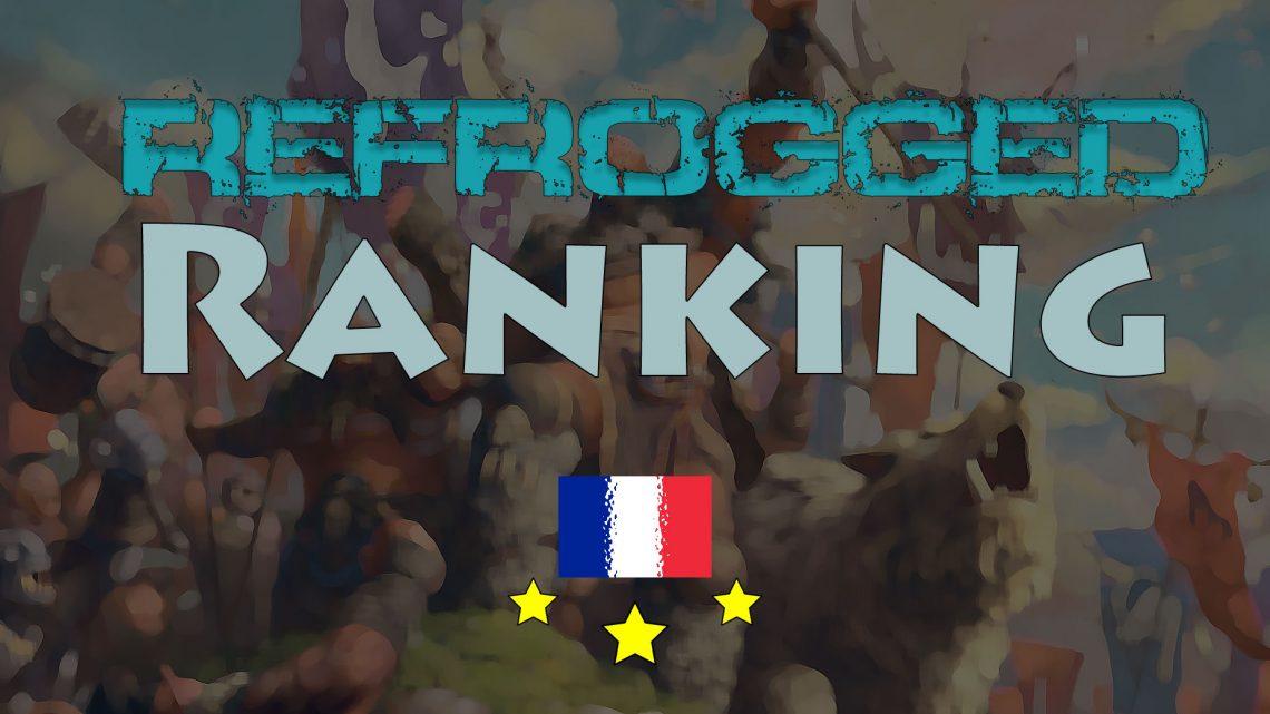 Refrogged Ranking – Les 20 meilleurs Français – mars 2020